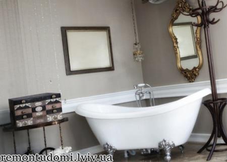 Встановлення чугунної ванни у Львові