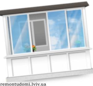 Низькі ціни на ремонт балконів і лоджій у Львові