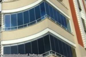 Ремонт балконів і лоджій у Львові