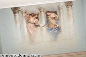 Художній розпис стін у Львові