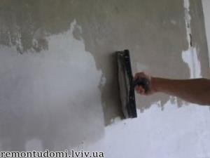 Низькі ціни на шпаклювання стін у Львові