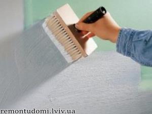 шпаклювання стін у Львові