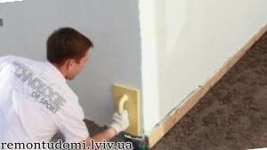 Шпаклювання стін Львів