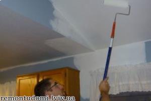 фарбування стелі у Львові