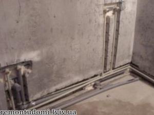 Помірні ціни на штроблення стін під труби