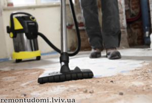 Прибирання після ремонту у Львові