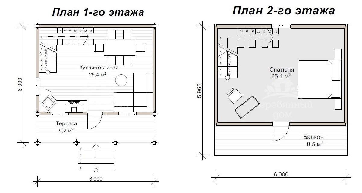 План будинку з мансардою Львів